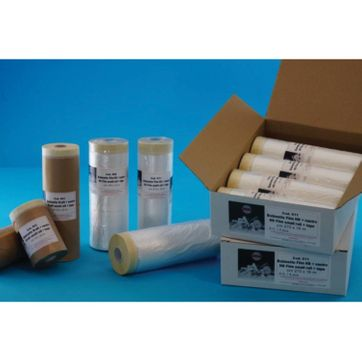 Folded Masking Paper Rolls With Tape